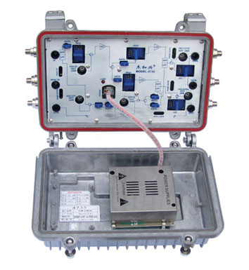 60v rs型分配放大器接线图